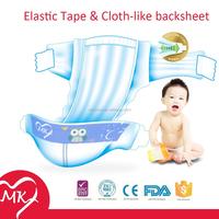 New design disposable B grade baby diaper in bulk baby diaper stocklots