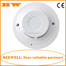 Factory price high stability 4 wire conventional fire alarm system smoke detector with relay output