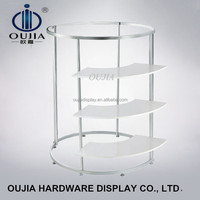 stylish clothes stores dress rack/clothes display stand for shop/dress display stand