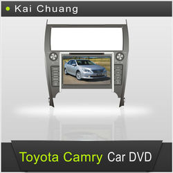 Car Entertainment System With GPS Toyota Camry 2012 Car DVD 2 din