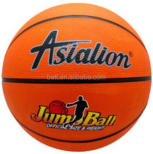 factory direct sale rubber basketball with custom printing