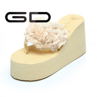2015 Cheap wholesale slippers summer girls nude beach slipper
