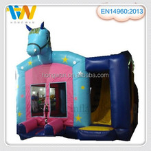 best selling inflatable bouncer, cartoon inflatable slide combos