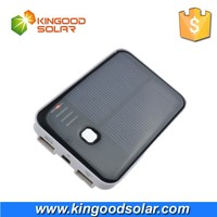 Mini portable solar charger solar power bank 5000mah for all mobile phones