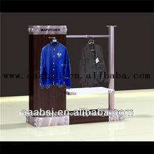 Xj-cr125 de madera estante de la ropa ropa ropa estante de exhibición de la tienda