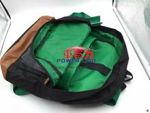 Green harness packback bag for school /gym/ gift /race drift /mountain