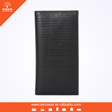 Multiply & Remove Credit Card Slots Black Pure Leather Wallets for Man