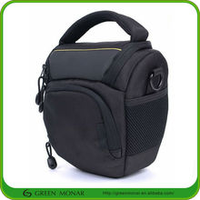 Black Polyester Profession Camera Bag,slr camera bag