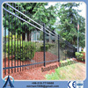 High security stainless steel fence with connectors