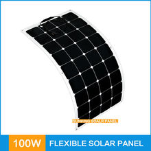China Manufacturers semi Flexible solar panel