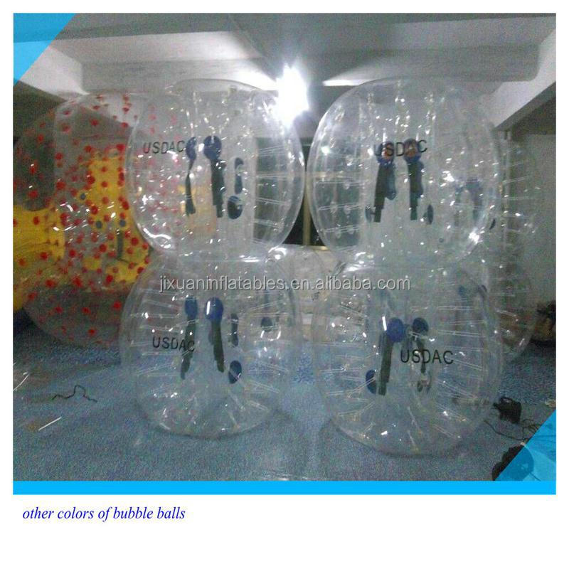 Futebol de alta qualidade bolha corpo inflável balão bolha bola de futebol
