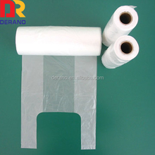 Hot Sale printed hdpe shopping bags clear garbage bags
