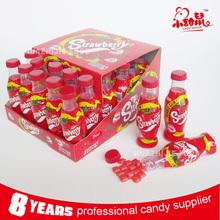 New launch cola bottle bubble gum on promotion