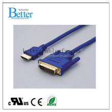 Cheap HDMI to DVI cable male to male DVI24+1