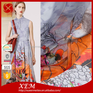 İmitasyon Pamuk Kadife % 100 Polyester Örgü saten şifon kumaş
