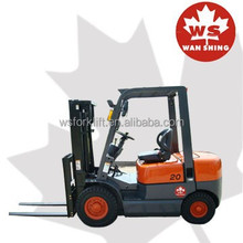 New Designed WS Brand Diesel Forklift 2 Ton With Japanese Engine