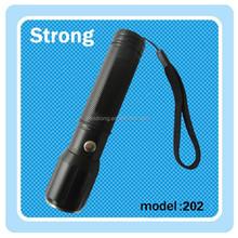 rechargeable / AAA battery 3 watt led police flashlight