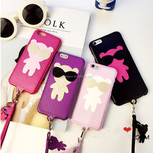 For iPhone 5/5S PC Hard Back Skin Mobile Phone Cases Lovely Cases