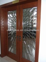 office glass door in elegant design,supply you a nice working environment