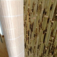 Beautiful bamboo materail interior decorative wallpaper for restaurant