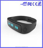 Bluetooth Smart Watch E02 Smart Bracelet Wearable Life Waterproof Pedometer sport Smart Watch For IOS Android Fitness Tracker