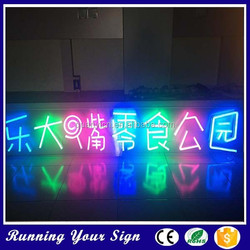 Newest arrival waterproof advertising taxi neon signs