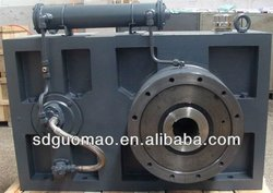 By Carburizing, Quenching and Grinding Process Single Screw Plastic Extruder Gearbox