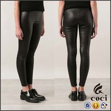 CCL084 2015 fashion PU Leather Leggings sexy pantyhose women leather leggings