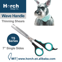 """7"""" single side thinning blade pet grooming hair trimming scissors"""