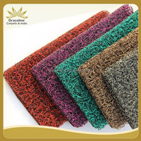 pvc plastic carpet roll with double used car carpets