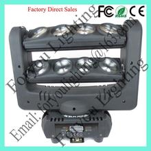 8x12w rgbw 4in1 or 10w white leds special antique best sell 10w *8pcs 10w led beam moving head bar