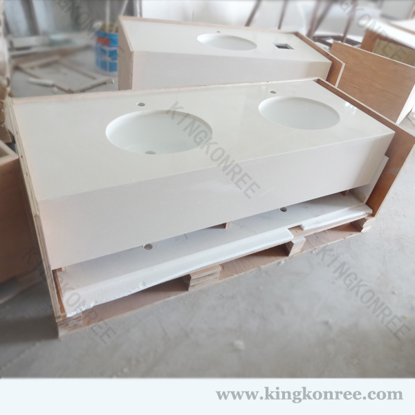 Double Bathroom Sink Countertop Buy Double Bathroom Sink Countertop