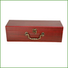 Red Painting Wood Jewelry Boxes Luxury Wooden Box For Jewelry