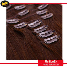 Aliexpress hair most fashion 100% wholesale clip in human hair extensions one thick