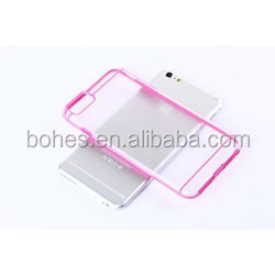 Dual Color TPU Bumper+PC Cover For Iphone 6S Hybrid Case