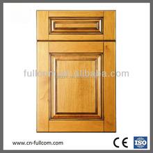Stitching panel Cherry solid wood Kitchen Cabinet Door