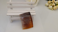 french style vintage hair accessories brown combs Factory Wholesale cheap price french twist hair combs magic hair combs