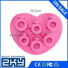 Shopping Time! New Drink Bar Party Ice Tray Diamond Love Rings Ice Cube Style Freeze Mould