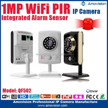720P HD Onvif Night Vision Home Wireless Memory Card Security Camera For Import With PIR Motion Sensor