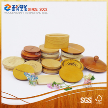 Kinds of sizes wooden lid for glass or ceramic