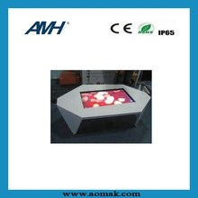 best customize for clients 46 inch Touch Screen Table Kiosk for global market