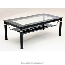 glass coffee table wooden livingroom furniture designs CT7011