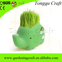 Best selling gifts elephant shape ceramic pots, mini ceramic crafts