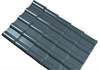 grey asa resin upvc corrugated roof material