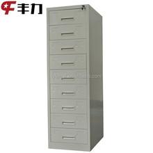 Office furniture K/D structure durable design metal multi drawer cabinet
