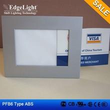 Edgelight PF6 plastic light box display stand wedding decoration