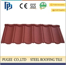 hot sale stone coated metal roofing in philippines low cost