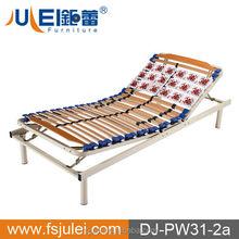Single Size Manual Adjustable Slat Bed Frame