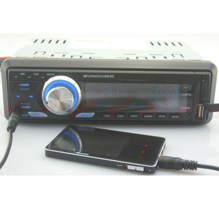 12V 4 * 50w 1 din universalgood звуковой эффект автомобиль радио usb аудио mp3 музыкальный плеер с портом usb/sd/mmc, поддержка mp3