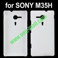 Soft Hand feeling Hard Back Cover Case for Sony Xperia SP M35h